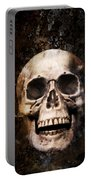 Skull In Earth Portable Battery Charger