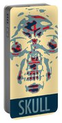 Skull In Negative Hope Portable Battery Charger