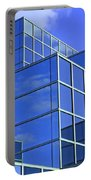 Sky Blue Mirror Portable Battery Charger