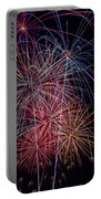Sky Full Of Fireworks Portable Battery Charger