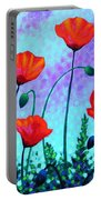 Sky Poppies Portable Battery Charger