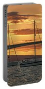 Skye Bridge Sunset Portable Battery Charger by Chris Thaxter