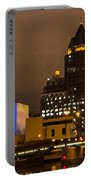 Skyline At The Milwaukee River Portable Battery Charger