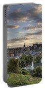 Skyline Of Edinburgh Scotland Portable Battery Charger