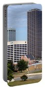 Skyline Of Little Rock Portable Battery Charger