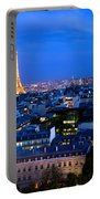 Skyline Of Paris Portable Battery Charger