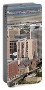 Skyline Of St. Paul Minnesota Portable Battery Charger
