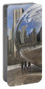 Skyline Reflected Portable Battery Charger
