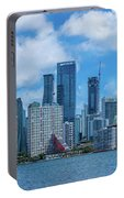 Skylines At The Waterfront, Miami Portable Battery Charger