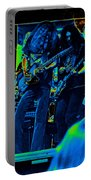 Skynyrd #5 Crop 2 In Cosmicolors Portable Battery Charger