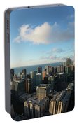 Skyscrapers In A City, Chicago, Cook Portable Battery Charger