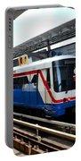 Skytrain Carriage Metro Railway At Nana Station Bangkok Thailand Portable Battery Charger