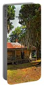 Slave Quarters Portable Battery Charger by Steve Harrington