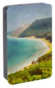 Sleeping Bear Dunes Lakeshore View Portable Battery Charger