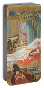 Sleeping Beauty And Prince Charming Portable Battery Charger