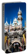 Sleeping Beauty's Castle Portable Battery Charger