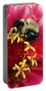 Sleeping Bumble Bee Portable Battery Charger