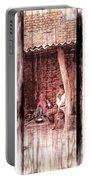 Slice Of Life Mud Oven Chulha Tandoor Indian Village Rajasthani 1c Portable Battery Charger