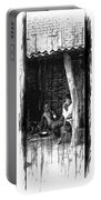 Slice Of Life Mud Oven Chulha Tandoor Indian Village Rajasthani 1d Portable Battery Charger