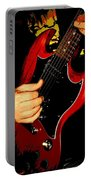 Red Gibson Guitar Portable Battery Charger