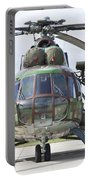 Slovakian Mi-17 With Digital Camouflage Portable Battery Charger