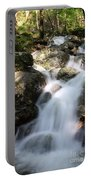 Slow Shutter Waterfall Scotland Portable Battery Charger