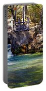 Sluice Gate At Alley Spring Portable Battery Charger