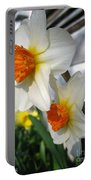 Small-cupped Daffodil Named Barrett Browning Portable Battery Charger
