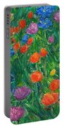 Small Flowers Portable Battery Charger
