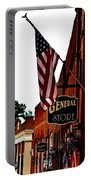 Small Town Patriotism Portable Battery Charger