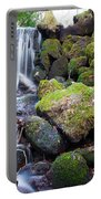 Small Waterfall In Marlay Park Dublin Portable Battery Charger