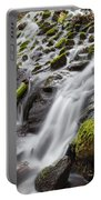 Small Waterfalls In Marlay Park Portable Battery Charger