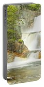 Smalls Falls In Western Maine Panorama Portable Battery Charger