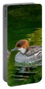Smew With Ducklings Portable Battery Charger
