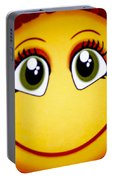 Smiley Sun Portable Battery Charger