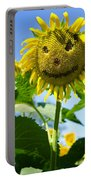Smiling Sunflower Portable Battery Charger
