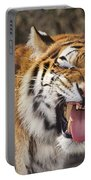 Smiling Tiger Endangered Species Wildlife Rescue Portable Battery Charger