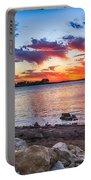 Smithville Lake Sunset Portable Battery Charger