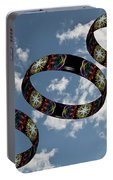 Smoke Rings In The Sky 1 Portable Battery Charger