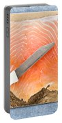 Smoked Salmon Portable Battery Charger