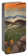 Smokey Mountain Sunset Portable Battery Charger