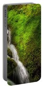 Smoky Mountain Stream And Boulders E223 Portable Battery Charger