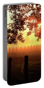 Smoky Mountain Sunrise Portable Battery Charger