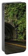 Smoky Mountain Tunnel In The Rain E123 Portable Battery Charger