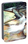 Smoky Mountains Waterfall Portable Battery Charger
