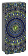 Smooth Squares Kaleidoscope Portable Battery Charger