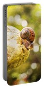 Snail Of A Time Portable Battery Charger