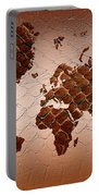 Snake Skin World Map Portable Battery Charger