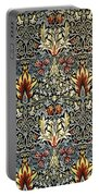 Snakeshead Portable Battery Charger by William Morris