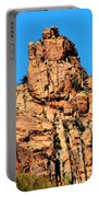 Snoopy Rock - Sabino Canyon Tucson Arizona  Portable Battery Charger